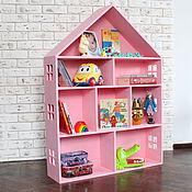 Куклы и игрушки ручной работы. Ярмарка Мастеров - ручная работа Большой деревянный дом, кукольный домик. Handmade.