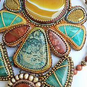 Украшения ручной работы. Ярмарка Мастеров - ручная работа Солнце Каира. Handmade.