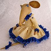 Куклы и игрушки ручной работы. Ярмарка Мастеров - ручная работа Матильда. Мышь. Handmade.