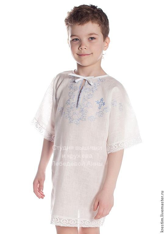 Baptismal shirt 89, Collecti clothes, Moscow,  Фото №1