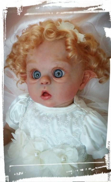 Куклы-младенцы и reborn ручной работы. Ярмарка Мастеров - ручная работа. Купить Ofelia. Handmade. Бежевый, reborn, подарок, медиум