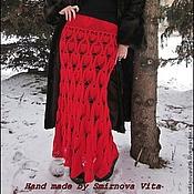 """Одежда ручной работы. Ярмарка Мастеров - ручная работа Юбка """"Страстная любовь"""". Handmade."""