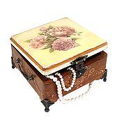 Для дома и интерьера handmade. Livemaster - original item Gift the woman the girl beloved casket