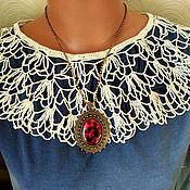 Винтаж handmade. Livemaster - original item Collar