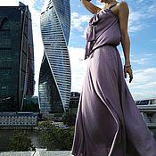 """Одежда ручной работы. Ярмарка Мастеров - ручная работа Шелковое  платье """"Амелия"""". Handmade."""