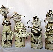 Куклы и игрушки ручной работы. Ярмарка Мастеров - ручная работа Придворные музыканты. Handmade.