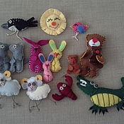 """Куклы и игрушки ручной работы. Ярмарка Мастеров - ручная работа Фетровая сказка """"Краденое солнце"""". Handmade."""