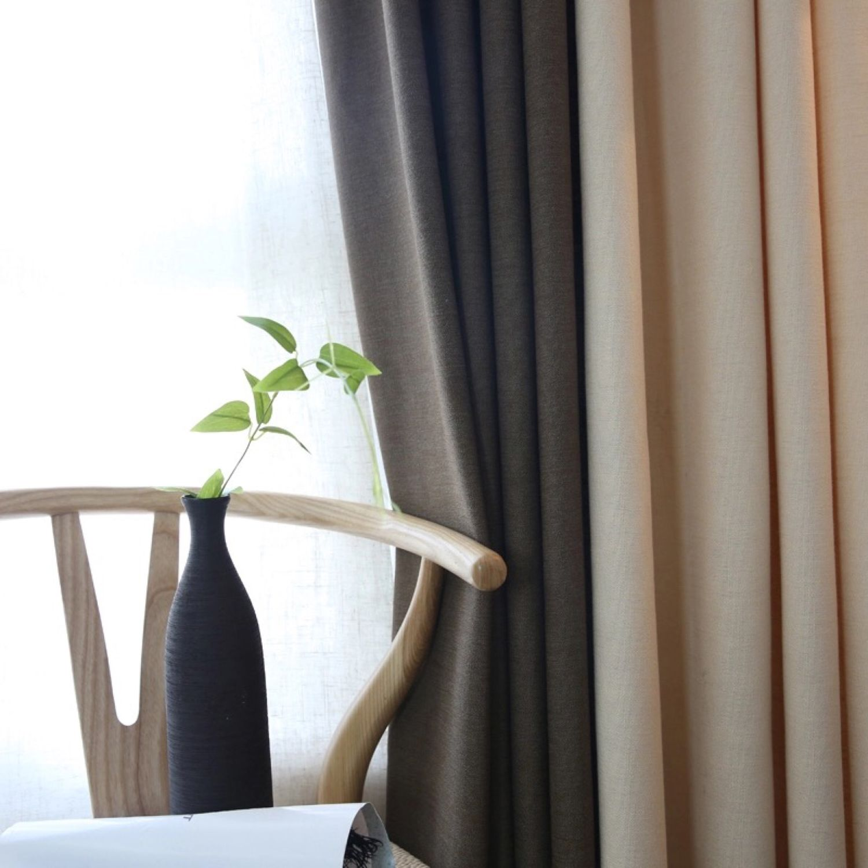 Льняные шторы для гостиной, Шторы, Санкт-Петербург,  Фото №1
