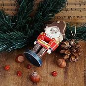 Подарки к праздникам ручной работы. Ярмарка Мастеров - ручная работа Игрушка - Щелкунчик. Handmade.