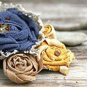 Украшения ручной работы. Ярмарка Мастеров - ручная работа Бохо-брошь с натуральным янтарем. Handmade.
