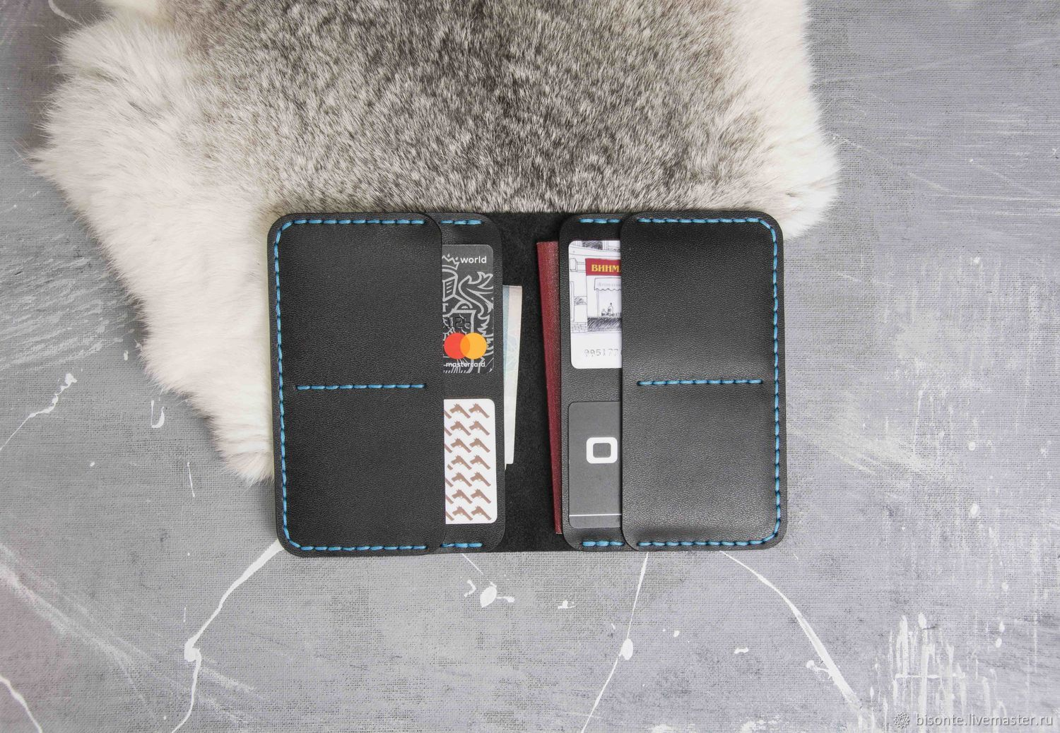 Wallet for cards and passport, Cardholder, Moscow,  Фото №1