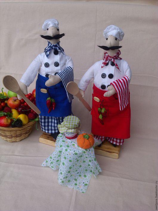 Куклы Тильды ручной работы. Ярмарка Мастеров - ручная работа. Купить Повар тильда. Handmade. Повар, подарок на любой случай