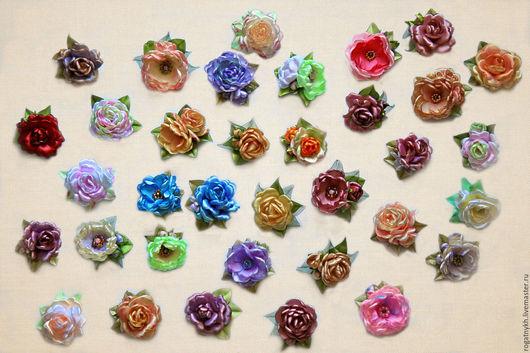 Куклы и игрушки ручной работы. Ярмарка Мастеров - ручная работа. Купить Миниатюрные цветы ручной работы для кукол и мишек. Handmade.
