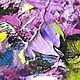 """Картины цветов ручной работы. """"Аромат Майского Утра"""" - картина маслом с букетом сирени. ЯРКИЕ КАРТИНЫ Наталии Ширяевой. Интернет-магазин Ярмарка Мастеров."""