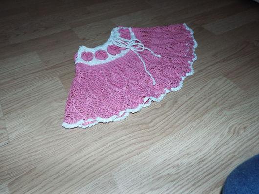 Одежда для девочек, ручной работы. Ярмарка Мастеров - ручная работа. Купить юбочка детская. Handmade. Розовый, хлопок