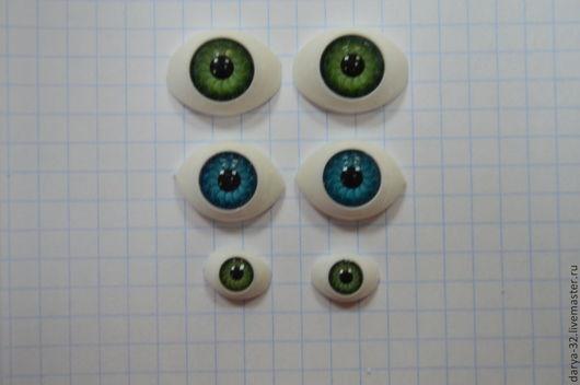 """Куклы и игрушки ручной работы. Ярмарка Мастеров - ручная работа. Купить """"Рыбки"""" глазки для кукол. Handmade. Глазки для игрушек"""