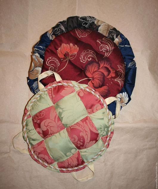 Кухня ручной работы. Ярмарка Мастеров - ручная работа. Купить Чехлы на табуретки 2. Handmade. Чехлы, текстиль, интерьер кухни