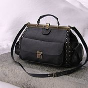 Сумки и аксессуары handmade. Livemaster - original item Women`s leather bag Elizabeth black. Handmade.