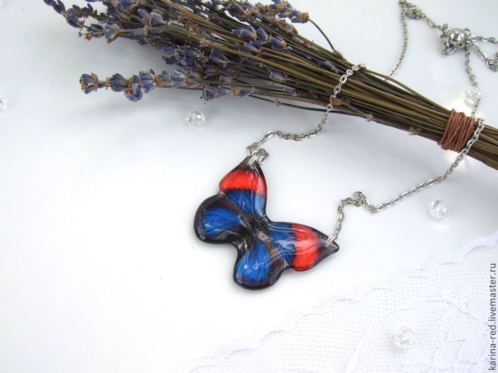 transparent pendant butterfly red blue shop to buy gifts epoxy resin jewelry shop to buy jewelry gift pendants photo epoxy jewelry pendant butterfly transparent