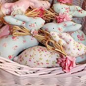 Куклы и игрушки ручной работы. Ярмарка Мастеров - ручная работа Пасхальные кролики.. Handmade.