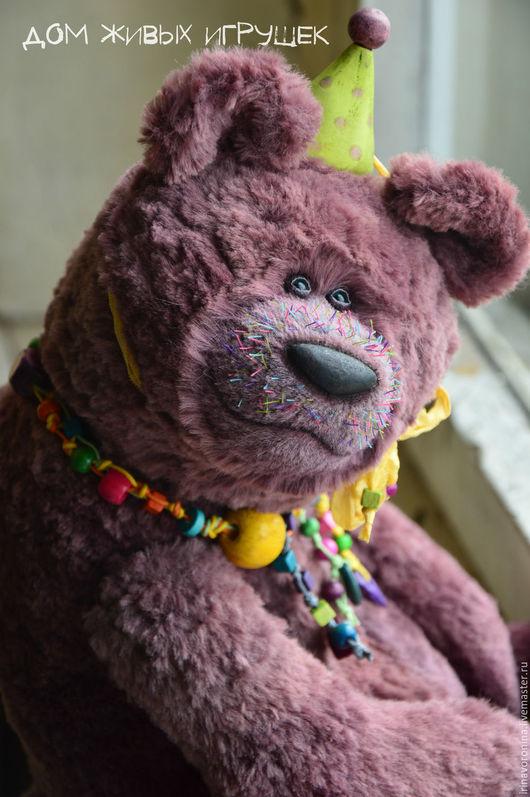 Мишки Тедди ручной работы. Ярмарка Мастеров - ручная работа. Купить Жимолость...авторский коллекционный медведь в стиле тедди. Handmade.