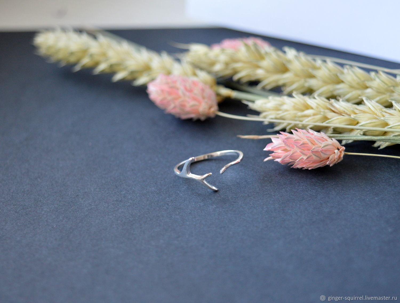 Thin branch ring, Rings, St. Petersburg,  Фото №1