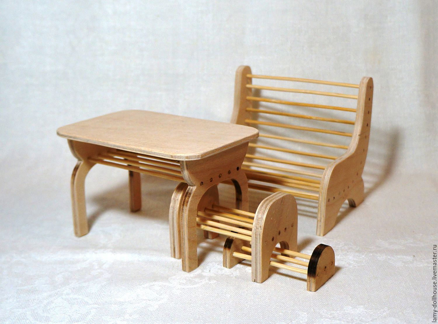 Copy of Sofa for doll, Doll furniture, Moscow,  Фото №1