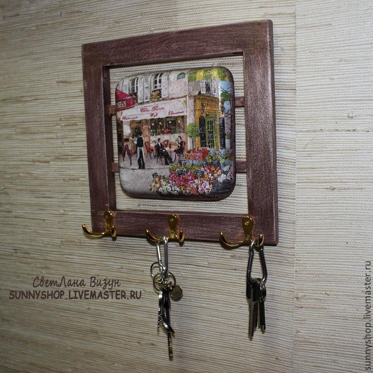Ключница в интерьере прихожей фото