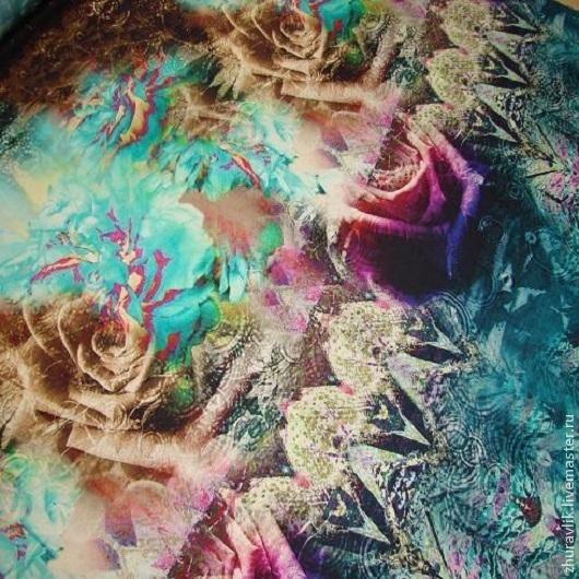Шитье ручной работы. Ярмарка Мастеров - ручная работа. Купить Плательная шерсть. Handmade. Зеленый, плательная шерсть, итальянские ткани