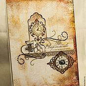 """Свадебный салон ручной работы. Ярмарка Мастеров - ручная работа Папка для свидетельства о браке """"Краски осени"""". Handmade."""