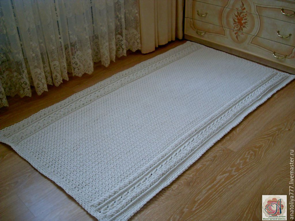 Carpet-carpet is handmade from cord Royal path, Carpets, Kabardinka,  Фото №1