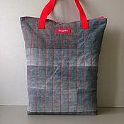 Сумки и аксессуары handmade. Livemaster - original item Denim shopping bag Dong Yu. Handmade.