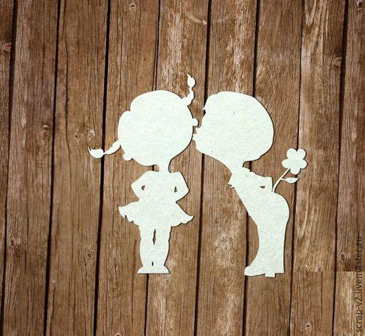 """Открытки и скрапбукинг ручной работы. Ярмарка Мастеров - ручная работа. Купить Набор чипборда """"Первая любовь"""" Chipboards. Handmade. Сипборд"""