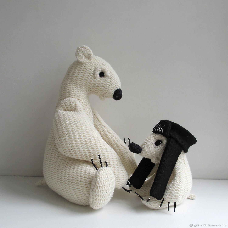 Медвежонок Умка с Мамой, Мягкие игрушки, Москва,  Фото №1