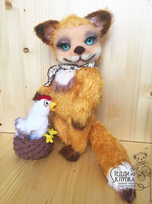 Мишки Тедди ручной работы. Ярмарка Мастеров - ручная работа. Купить Лисичка Тедди. Handmade. Мишка, мишки, вязание