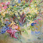 Картины и панно ручной работы. Ярмарка Мастеров - ручная работа Флора. Handmade.