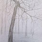 Картины и панно ручной работы. Ярмарка Мастеров - ручная работа Весна, дерево в парке. Handmade.