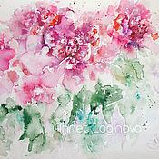 Картины и панно handmade. Livemaster - original item Watercolor noon. Handmade.