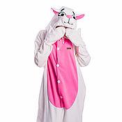 handmade. Livemaster - original item Costume kigurumi White Cat WHITE CAT KIGU. Handmade.