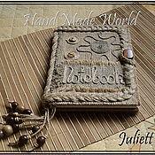 Канцелярские товары handmade. Livemaster - original item Notebook (A5). Handmade.