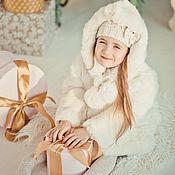 Одежда ручной работы. Ярмарка Мастеров - ручная работа Детская шубка из кролика. Handmade.