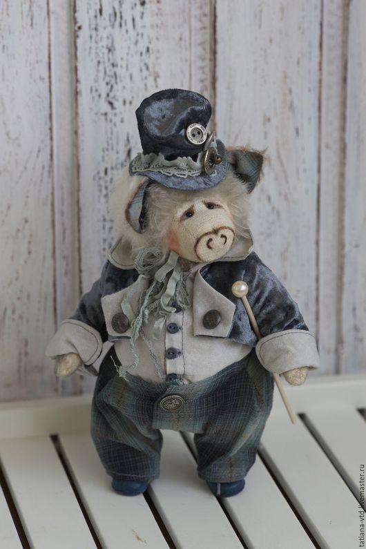 """Мишки Тедди ручной работы. Ярмарка Мастеров - ручная работа. Купить Джордж (Призёр """"Искусство кукол"""" 2015, декабрь). Handmade."""