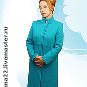 "Одежда handmade. Livemaster - original item Knitted coat""Flirty"". Handmade."