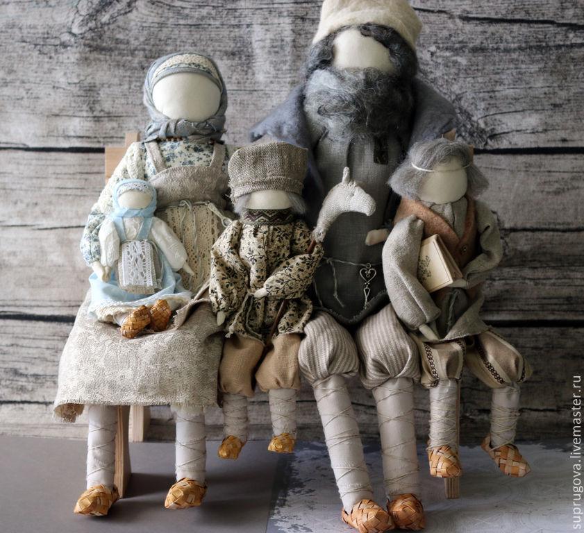 """""""Счастливое семейство"""" Авторская кукла-образ, Народная кукла, Чебоксары,  Фото №1"""