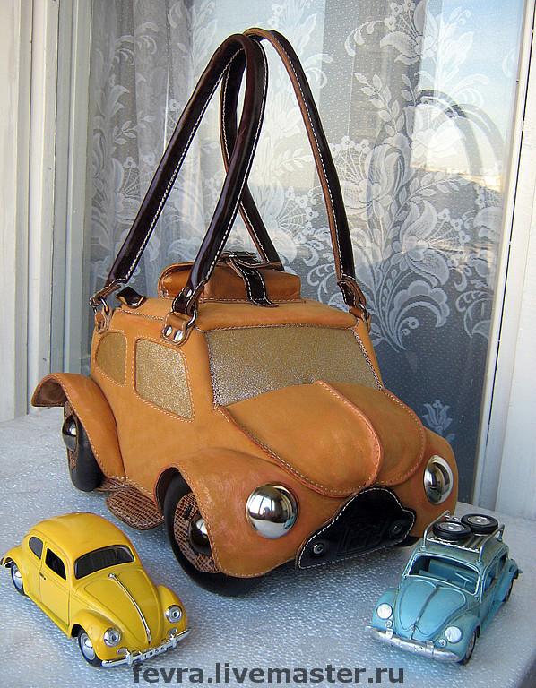 Bag machine 'Yellow beetle', Classic Bag, Moscow,  Фото №1
