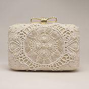 Свадебный салон handmade. Livemaster - original item Wedding handbag clutch Lace. Handmade.
