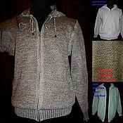 Одежда handmade. Livemaster - original item 100% linen Sweatshirt lightweight long sleeve. Handmade.