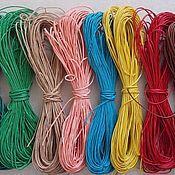 Фурнитура для шитья ручной работы. Ярмарка Мастеров - ручная работа Вощеный шнур 1,2мм. Handmade.
