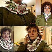 Аксессуары ручной работы. Ярмарка Мастеров - ручная работа Снуд-шарф. Handmade.