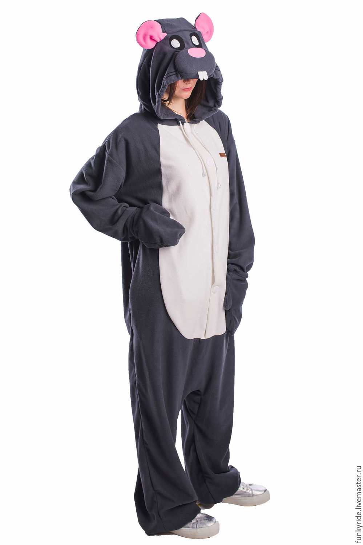 Костюм кигуруми Мышка MOUSE KIGU – купить в интернет-магазине на ... 89423e6660f2f